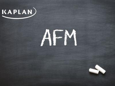 ACCA Advanced Financial Management (AFM/P4) Evening Lectures