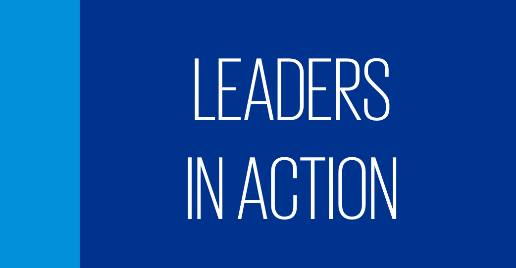 leaders in action
