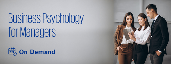 Business Psychology for Managers