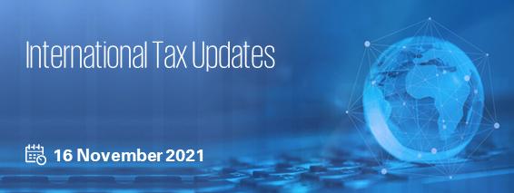 Internation Tax Updates