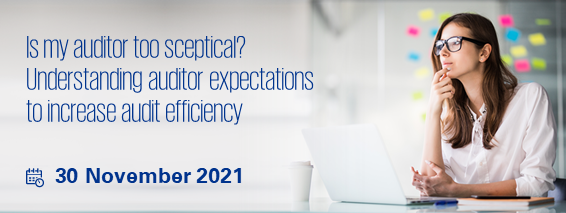 Is my auditor too sceptical? Understanding auditor expectations to increase audit efficiency