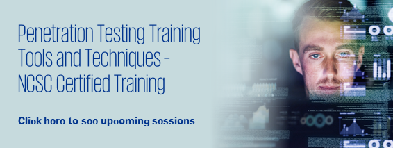 Penetration Testing Training: Tools and Techniques – NCSC Certified Training