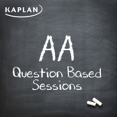 ACCA Audit and Assurance (AA/F8) - Question Based Sessions