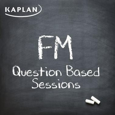 ACCA Financial Management (FM/F9) - Question Based Sessions