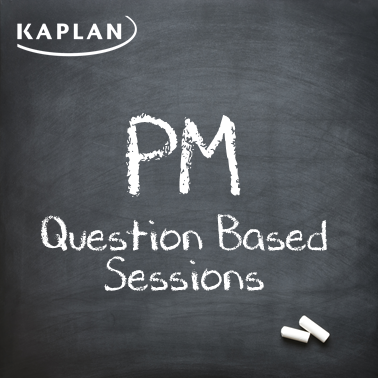 ACCA Performance Management (PM/F5) - Question Based Sessions